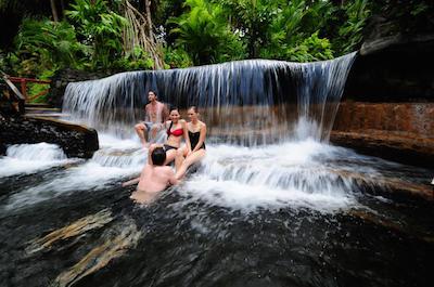 Tabacon Hot Springs in Costa Rica