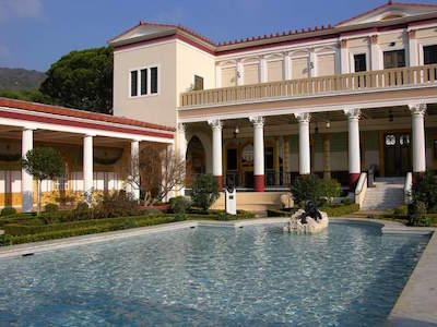 The Getty Villa in Malibu