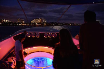 The Reef at Night Sunset Bioluminescence Tour in Oahu