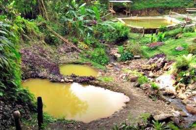 Ti Kwen Glo Cho Hot Springs in Dominica