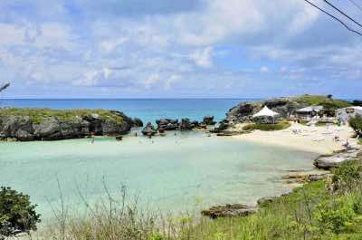 Tobacco Bay in Bermuda