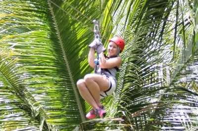 Treetop Adventure Park in St. Lucia