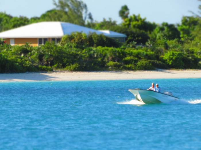 Turks and Caicos boat ride
