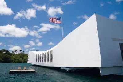 USS Arizona Memorial in Oahu