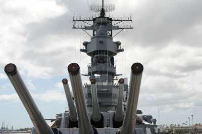 USS Missouri in Oahu