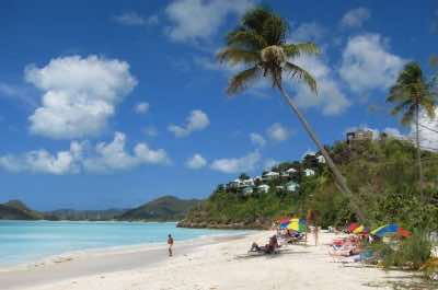 Valley Church Beach in Antigua