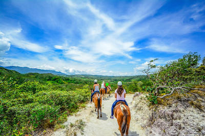 Vida Aventura Park in Guanacaste: Zipline Tour, Horseback Ride and Hot Springs in Guanacaste