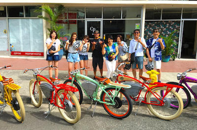Vintage Electric Bike Tour: Into the Core of Diamond Head Crater in Oahu