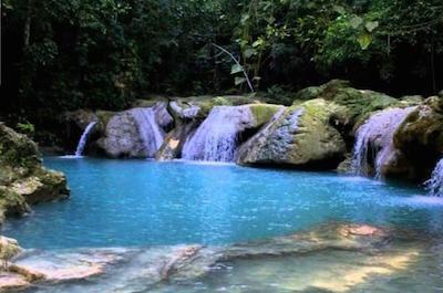 Visit Blue Hole in Montego Bay