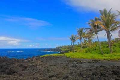 Waianapanapa State Park in Maui