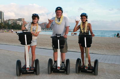 Waikiki and Diamond Head Segway Tour in Oahu