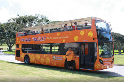 Waikiki Trolley Hop-on Hop-off Tour of Honolulu