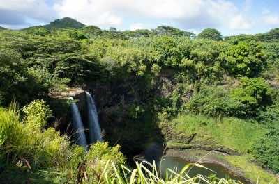 Wailua Falls in Kauai