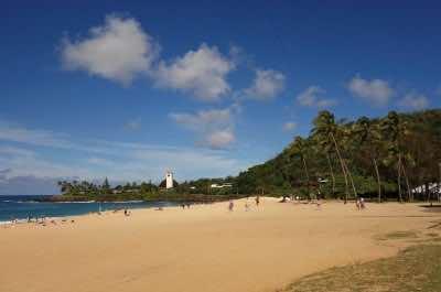 Waimea Bay Beach in Oahu