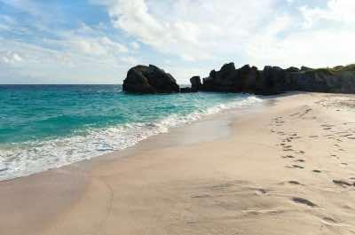 Warwick Long Bay Beach in Bermuda