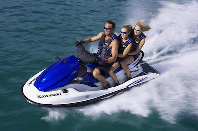 Waterskiing and Jet Skiing in Miami