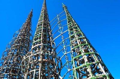 Watts Towers in Los Angeles