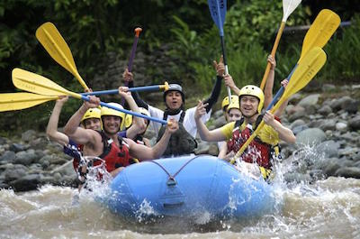 White water Rafting in Manuel Antonio