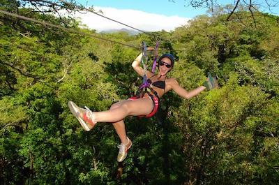 Zipline tours in Liberia