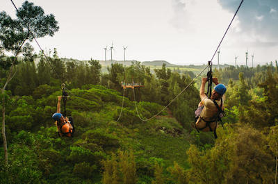 Zipline Tours In Oahu
