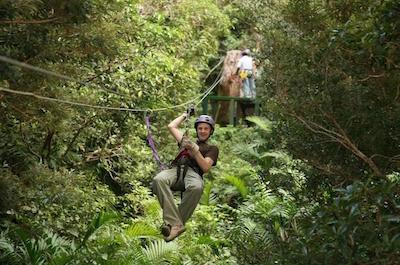 Zipline Tours in Tamarindo
