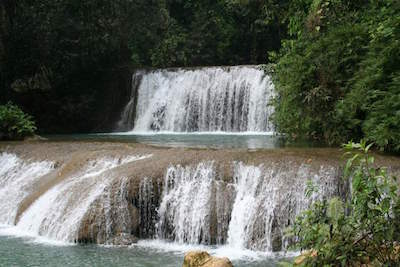 YS Falls in Montego Bay
