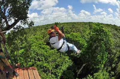 Ziplines in Cancun