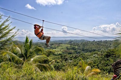 things to do in samana - Ziplines