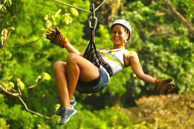 Zipline Tours in Jaco