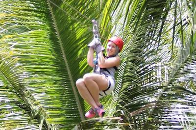 Ziplines in St. Lucia