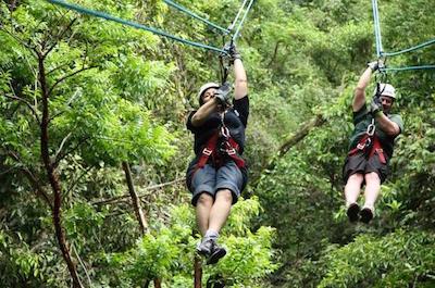 Ziplines in Puerto Vallarta